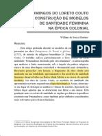 MARTINS, William - D. Domingos Do Loreto Couto e a construção de modelos de santidade feminina na época colonial.pdf