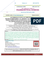 SYNTHESIS OF NOVEL (R)-5-BROMO-3-(NMETHYLPYRROLIDINE-2-YL-METHYL)-1H (SUBSTITUTED)- INDOLE DERIVATIVES AS POTENTIAL COX-2 INHIBITORS VIA JAPP-KLINGEMANN AND FISCHER INDOLE CYCLIZATION REACTIONS