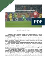 Cronica Fotbal