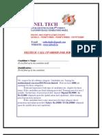 Neltech Selection Order