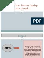Pengelolaan Stres Terhadap Suatu Penyakit