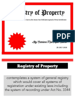 Registry of Property