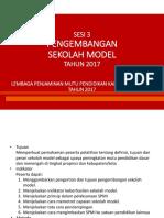 3. Pengembangan Sekolah Model.pptx