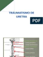 TRAUMATISMO- URETRA