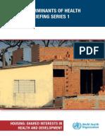 Análisis Sectoriales Comisión DSS 2011-2013