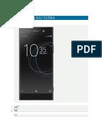 Sony Xperia Xa1 Ultra Plan Solicitad