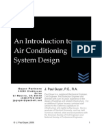 Intro to Air Cond Systems