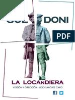 Dossier La Locandiera - Artistas y.