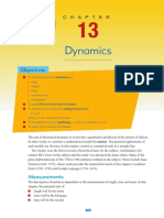 Chapter 13 - Dynamics