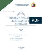 Informe de Mecanica de Rocas Mapeo Geomecanico