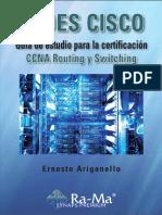 Redes Cisco CCNA Routing y Switching - Ernesto Ariganello Ariganello