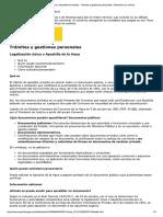 Legalización Única o Apostilla de La Ha..