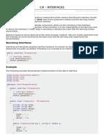 Csharp Interfaces(23)