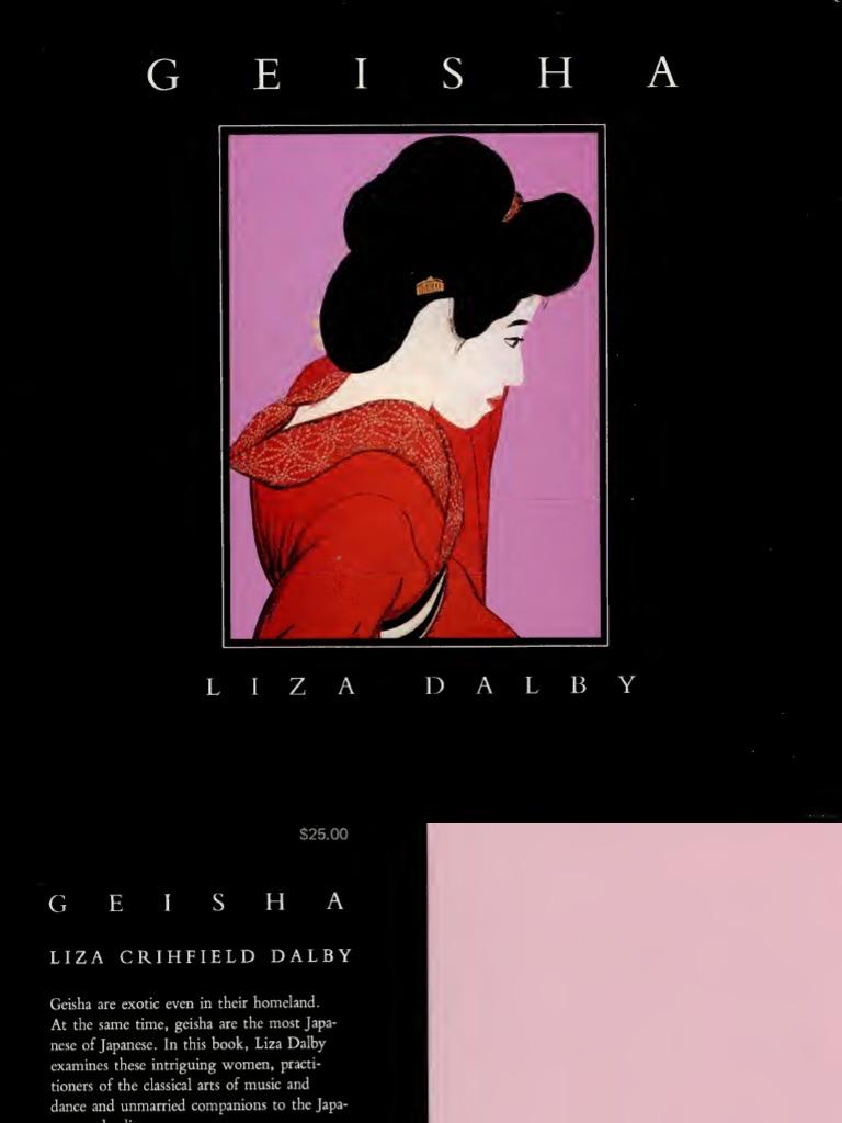 Liza Dalby Geisha Pdf Geisha Ethnography
