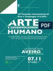 Arte e Desenvolvimento Humano Arte e Tecnologia
