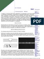 Radiograph Interpretation - Welds
