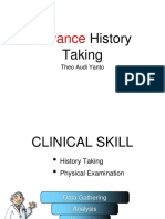 Clinical Skill - Advance History Taking