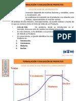 Formulacion y Evaluacion de Proyectos ciclo de Vida de Un Producto