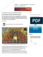 Las fisuras de la democracia | Perfil.com