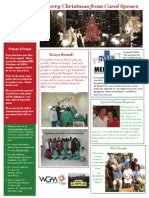 2006-12 C Spears Newsletter