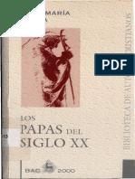 Laboa Juan Maria - Los Papas Del Siglo XX