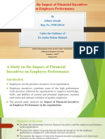 Financial Incentives Ppt