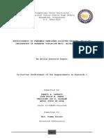 Effectiveness of Pantawid Pamilyang Pili