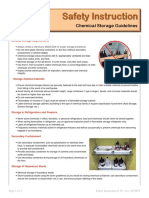 Chemical Storage Guidelines Si