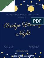 bridge literacy night  7