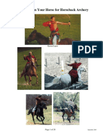 How to Train Your Horse to Horseback Archery Revised