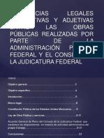 Diferencias Legales Sustantivas y Adjetivas Entre Las Obras