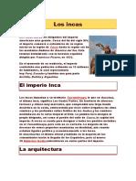 Los Incas DESDE