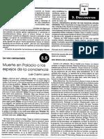 Articulo Muerte en Palacio de Luis Castro Leiva