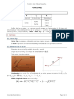 Formulario Tema 10. Geometría analítica