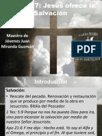 Lección 7 Jesús Ofrece La Salvación