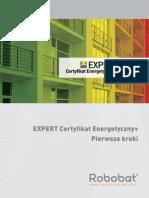 EXPERT Certyfikat Energetyczny-Pierwsze Kroki 2.0
