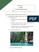 A Terra Estudos e Representações FT1 Geo 7º