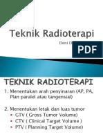 5. Teknik Radioterapy