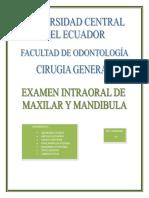 Anomalías en Los Maxilares