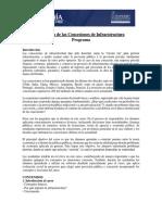 Economía de Las Concesiones de Infraestructura