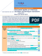 Avc Synthese Des Recommandations HAS 2015