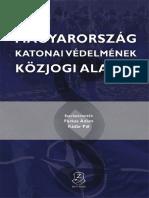 Magyarország katonai védelmének közjogi alapjai