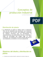Conceptos de Producción Industrial