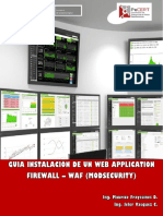 Guia Instalación de Un Web Application Firewall