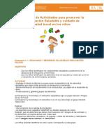 Propuestas de Actividades Semana de Armando Salud 2015