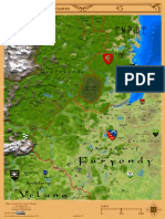Map of Northern Furyondy