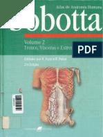 Sobotta. Anatomía - Tronco, visceras y extremidad inferior (tomo 2)
