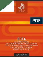 Guía Del Examen General EGAL-EPRIM 2017