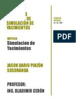 Conceptos Generales de Simulacion de Yacimientos