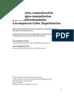 Información, comunicación y estrategias comunitarias para el enfrentamiento a la sequía en Cuba. Experiencias (Willy PEDROSO AGUIAR & Yunier RODRÍGUEZ CRUZ)